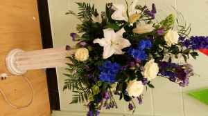 Blue & White Arrangement
