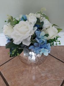 Artificial Crackle Vase