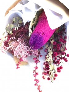 Colourful Dried Posy