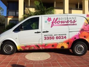 Brisbane Flowers Van