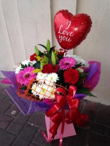 Bouquet & Balloon