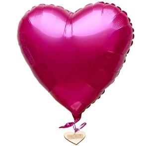 Cerise Heart Balloon