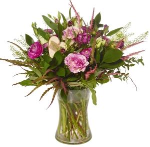 Pretty Pinks Vase
