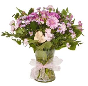 Baby Girl Vase Arrangemen