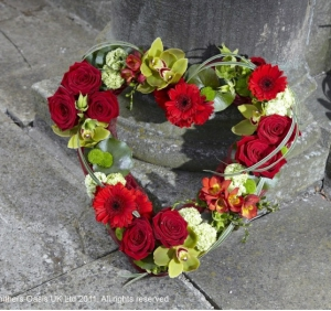 Red Open Heart   Sym-322