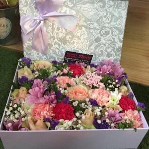 'Sicily' Flower Gift Box