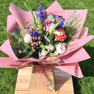 Signature Summer Hand Tied Bouquet