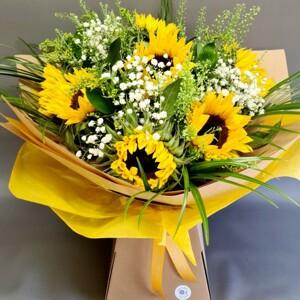 Sunshine Hand Tied Bouquet
