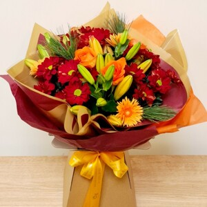 Autumn Day's Hand Tied Bouquet