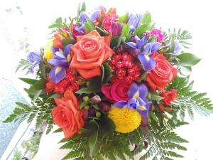 Luxury Vibrant Hand Tied