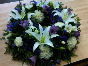 Purple Delight Wreath