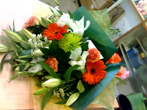 Fabric Wrap Bouquet