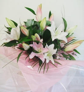 Just Lilies Hand Tied