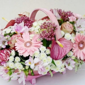Pink Basket