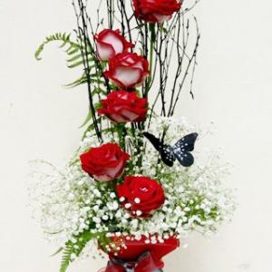 Cascading Rose