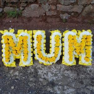 Mellow Yellow Mum Letter