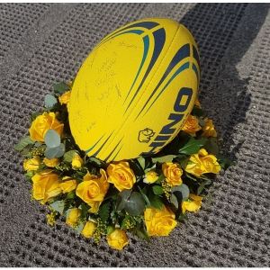 Rugby Rose Wreath Tribute