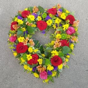 Abundant Garden Heart