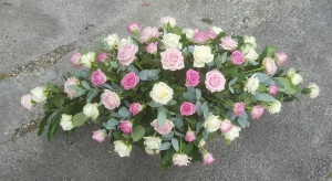 Mixed Rose Casket