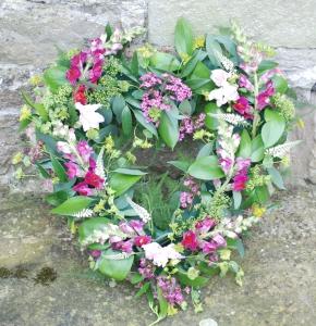 Foliage Heart Wreath