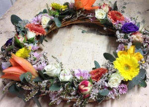 Country Wreath Medium