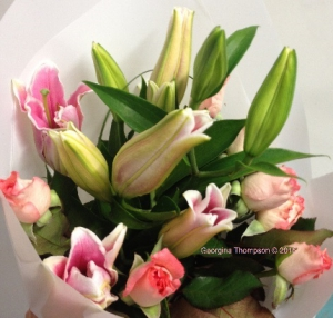 Roses & Lillies Bouquet