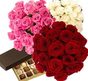 19 Roses + Chocolates