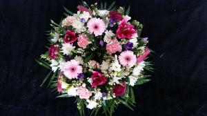 Wreath - Pink & Purple