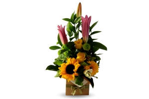 Sunny Yellow Arrangement