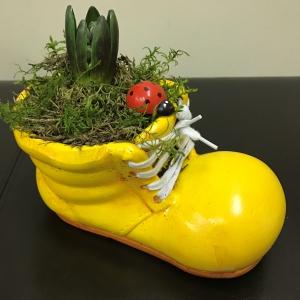 Flower Bootie