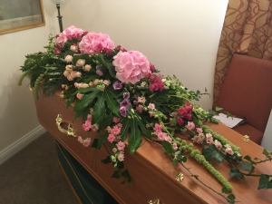 Bespoke Coffin Spray