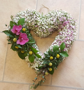 Gypsophila Heart