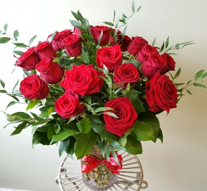 Luxury Rose Vase