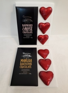 Chocolate Hearts And Bar