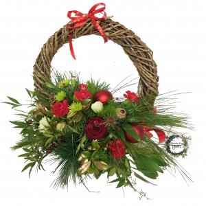 Christmas Wreath Bowl