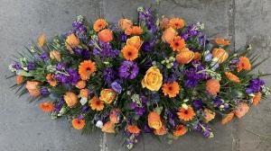Orange & Purple Casket