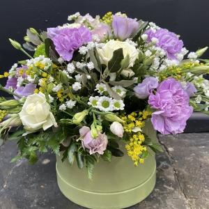 Lilac Hatbox