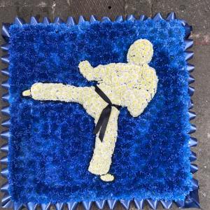 Karate Funeral Tribute