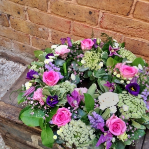Seasonal Funeral Wreath