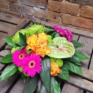 Vibrant Funeral Posy