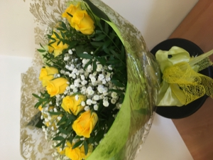Handtied Of Roses And Gyp