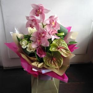 Orchid Tropical Handtie