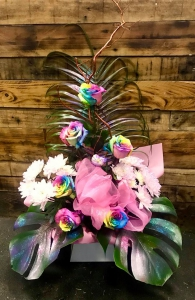 Unicorn 6x Rainbow Roses