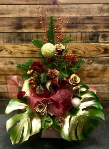 Christmas Box Flowers