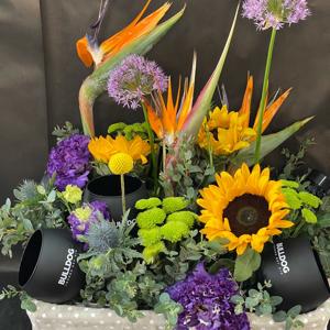 Flower Summer Exotic Basket With Jin Bobay