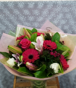 Musi Hot Pink Bouquet