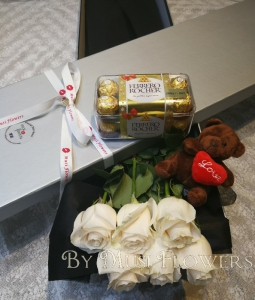 Sweet White Love Box