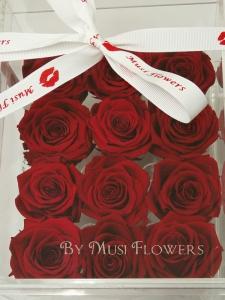 12 Everlasting Roses