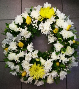 White&Yellow Wreath