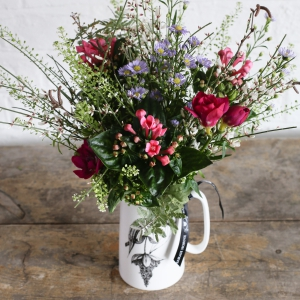 Seasonal Jug Of Flowers